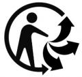 Logo du tri sélectif
